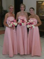 Wedding Attendants' Bouquets Picture - Peonies and Roses
